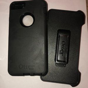 iPhone 6 Plus otter box and holster